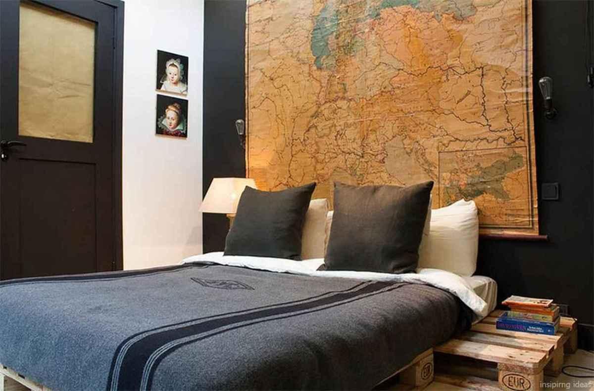 30 Nice Simple Bedroom Decor Ideas for Men