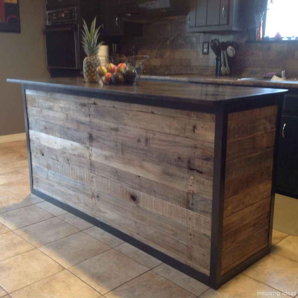 38 Nice DIY Pallet Bar Design Ideas
