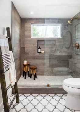 53 Best Modern Farmhouse Master Bathroom Design Ideas