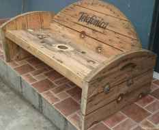 53 DIY Upcycled Spool Project Ideas for Outdoor Furniture