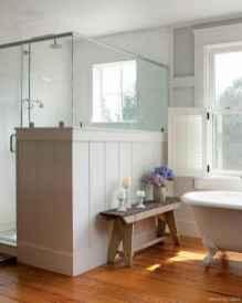 61 Best Modern Farmhouse Master Bathroom Design Ideas