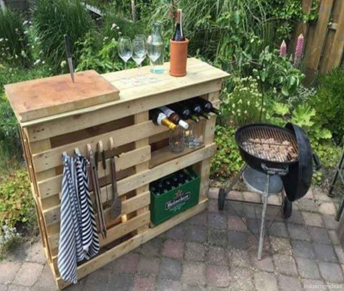 76 Nice DIY Pallet Bar Design Ideas