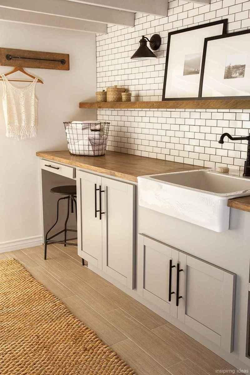 Modern Farmhouse Kitchen Backsplash Design Ideas 14