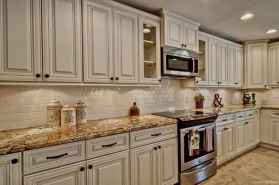 Modern Farmhouse Kitchen Backsplash Design Ideas 32