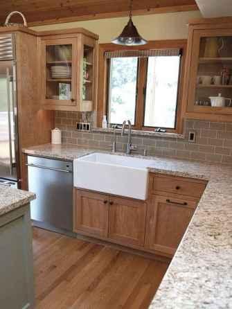 Modern Farmhouse Kitchen Backsplash Design Ideas 71