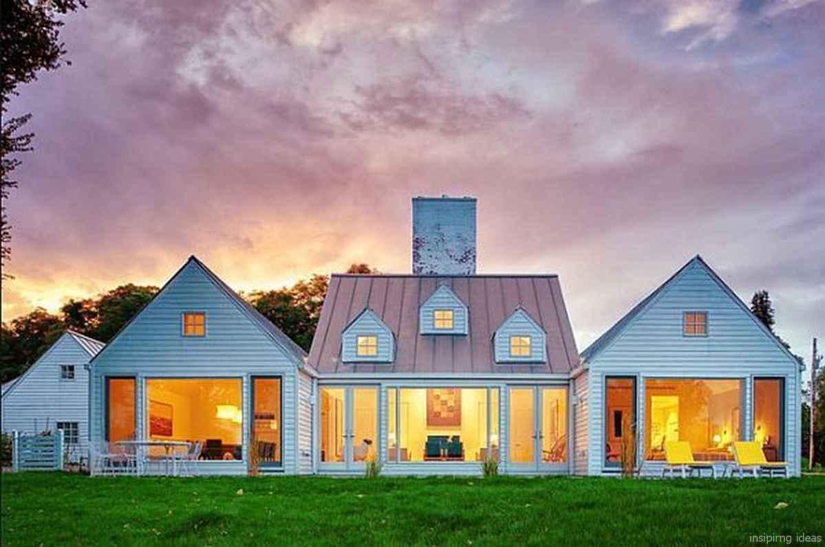 Simple Modern Farmhouse Exterior Design Ideas 31