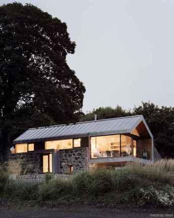 Simple Modern Farmhouse Exterior Design Ideas 46