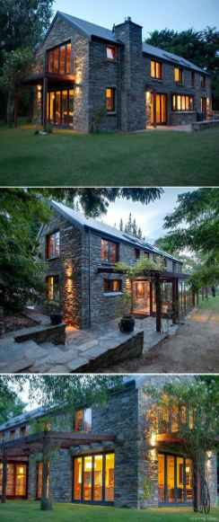 Simple Modern Farmhouse Exterior Design Ideas 69