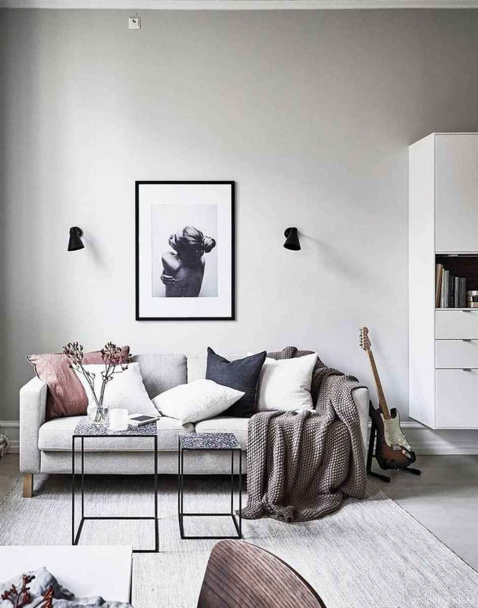 06 Cheap Modern Apartment Living Room Decorating Ideas