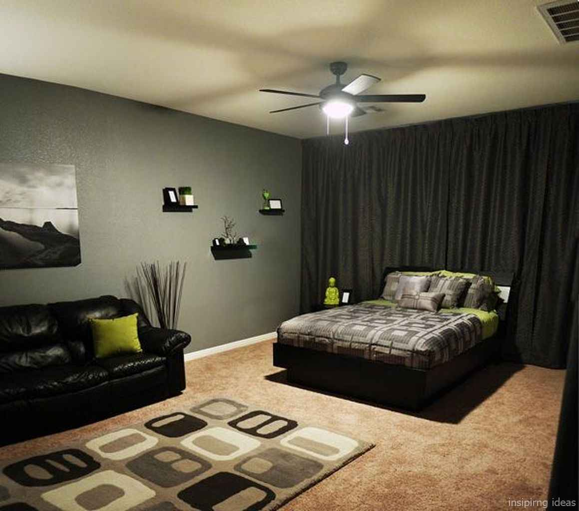 46 Simple Bedroom Design Ideas for Small Space