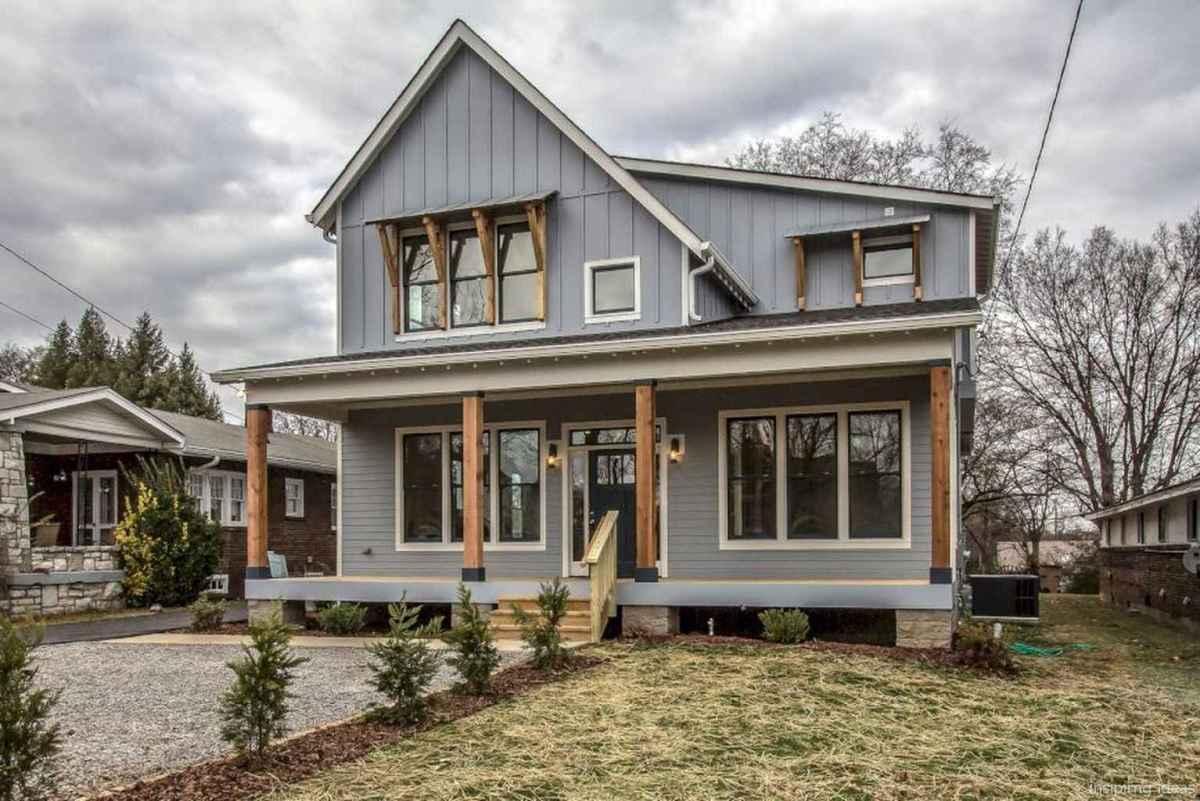 50 Modern Small Farmhouse Exterior Design Ideas