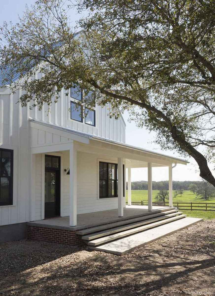 56 Modern Small Farmhouse Exterior Design Ideas