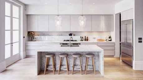 93 Fabulous Modern Kitchen Island Ideas