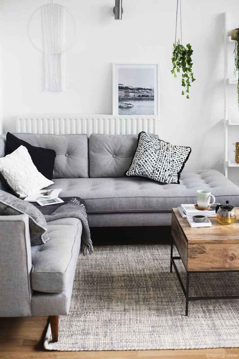 01 Fabulous Modern Gray Living Room Decor Ideas