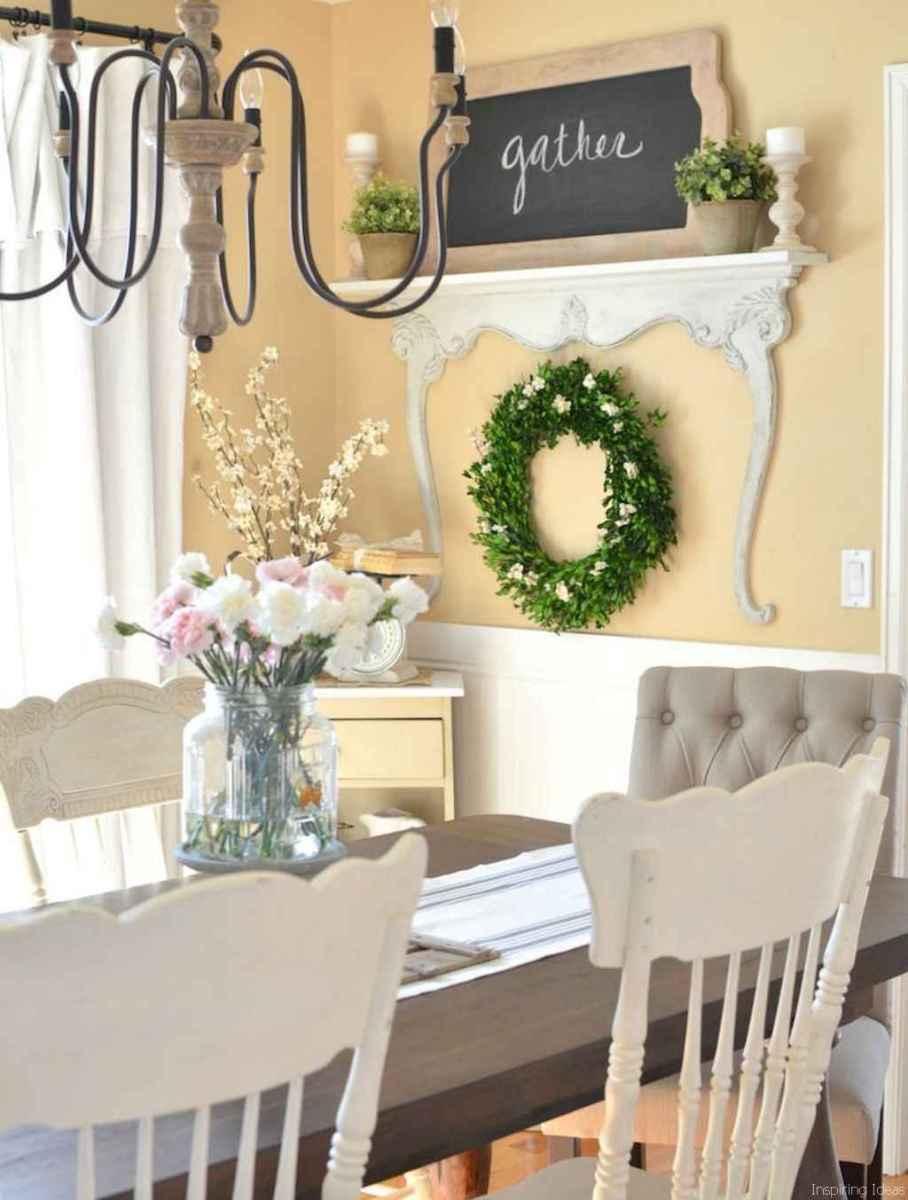 09 Beautiful Modern Farmhouse Dining Room Decor Ideas