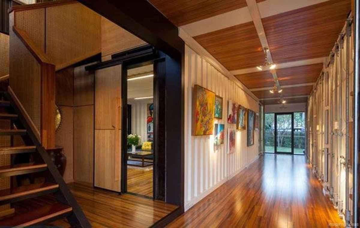 15 Unique Container House Interior Design Ideas