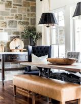 29 Beautiful Modern Farmhouse Dining Room Decor Ideas
