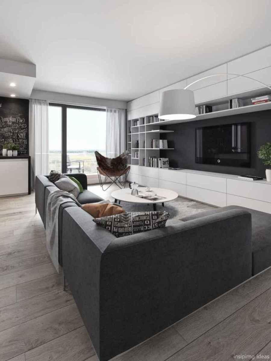 42 Fabulous Modern Gray Living Room Decor Ideas