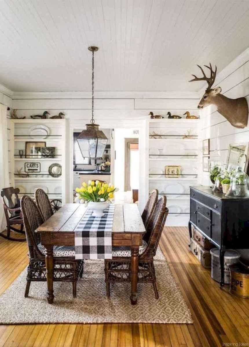 47 Beautiful Modern Farmhouse Dining Room Decor Ideas