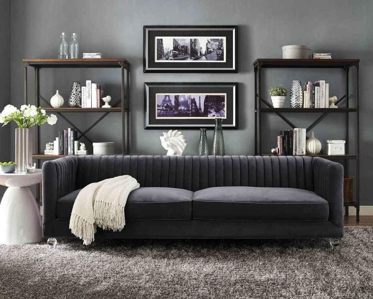 53 Fabulous Modern Gray Living Room Decor Ideas