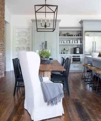 58 Beautiful Modern Farmhouse Dining Room Decor Ideas