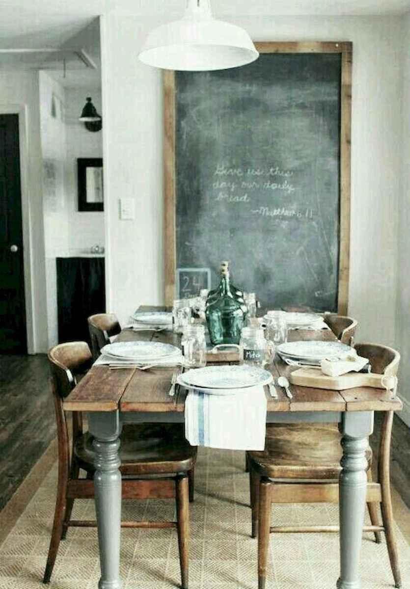 59 Beautiful Modern Farmhouse Dining Room Decor Ideas