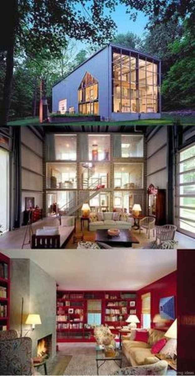 60 Unique Container House Interior Design Ideas