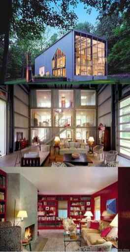 60 Unique Container House Interior Design Ideas
