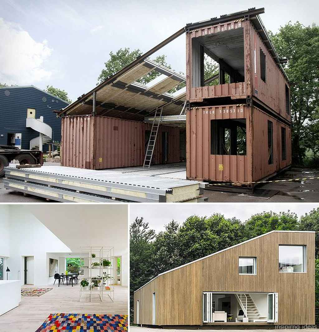 78 Unique Container House Interior Design Ideas