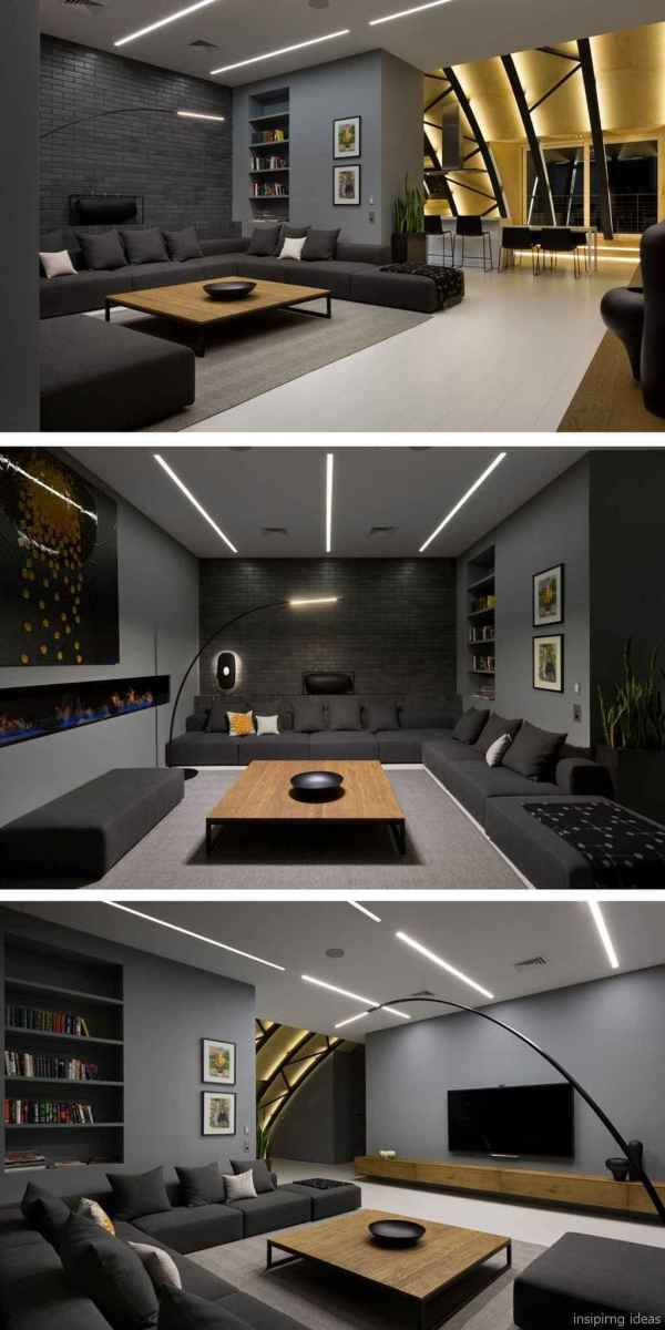 85 Modern Living Room Decor Ideas 67