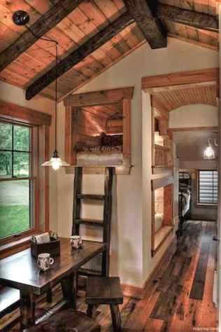 Incredible Tiny House Interior Design Ideas82