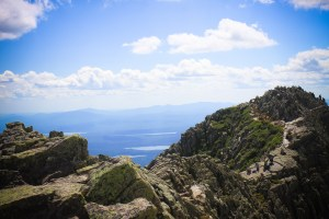 Hiking Katahdin Over the Knife's Edge