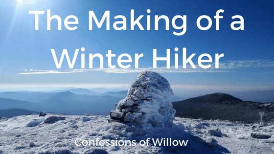 winter hiking, maine, maine adventures, mountains, krampons, solo hiking, new hampshire