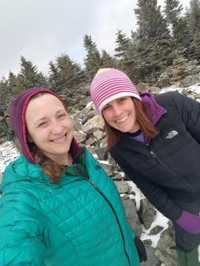 winter hiking, maine, maine adventures, mountains, krampons, solo hiking, new hampshire, Deuter, leki, kathoola, moosilauke, white mountains