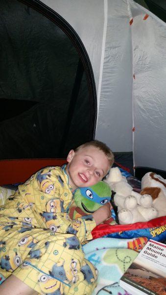 My tent mate