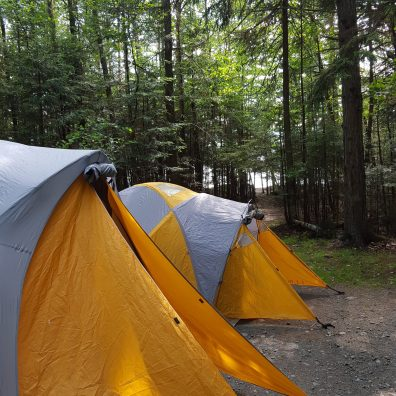 Tent city- Thanks LLBean!