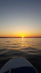 Sunset on the Reach