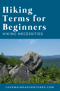 Hiking Terms for Beginners