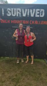 Beers at Tough Mountain Challenge