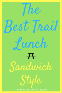 trail lunches, picnics, best trail sandwich, best trail snacks