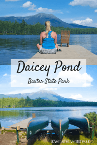 Daicey Pond, Baxter State Park, Canoeing in Baxter State Park