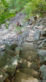 Precipice Trail up Champlain Mountain