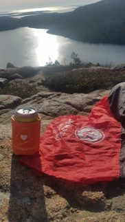 Maine Coozie, Openword Outfitters, Pocket blanket, best things for hiking, what do I need for hiking