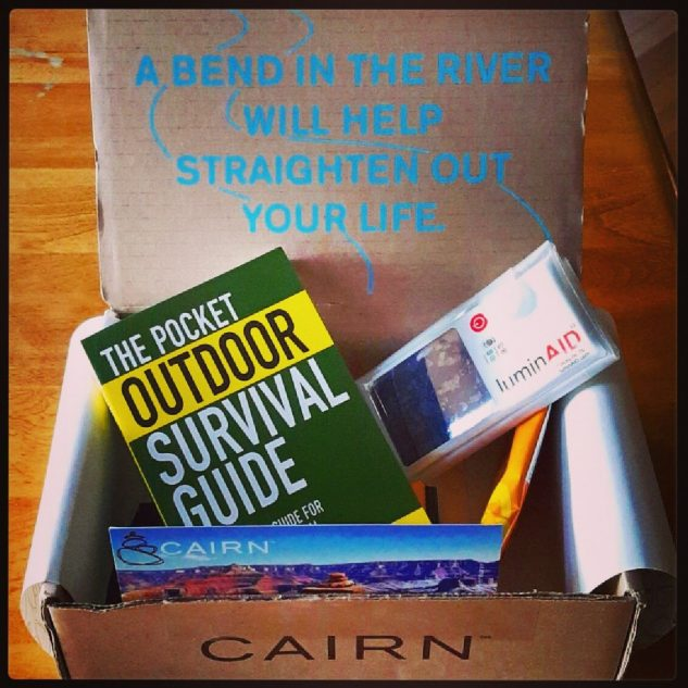 Cairn Box, adventure subscription