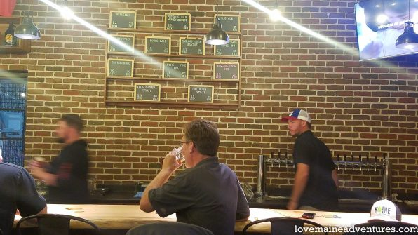geaghans brewing tasting room, geaghan brothers brewing, beer, taproom, bangor, brewer, where to get beer near waterfront, where to get beer near waterfront concerts, maine craft beer, maine tap rooms, maine beer trail