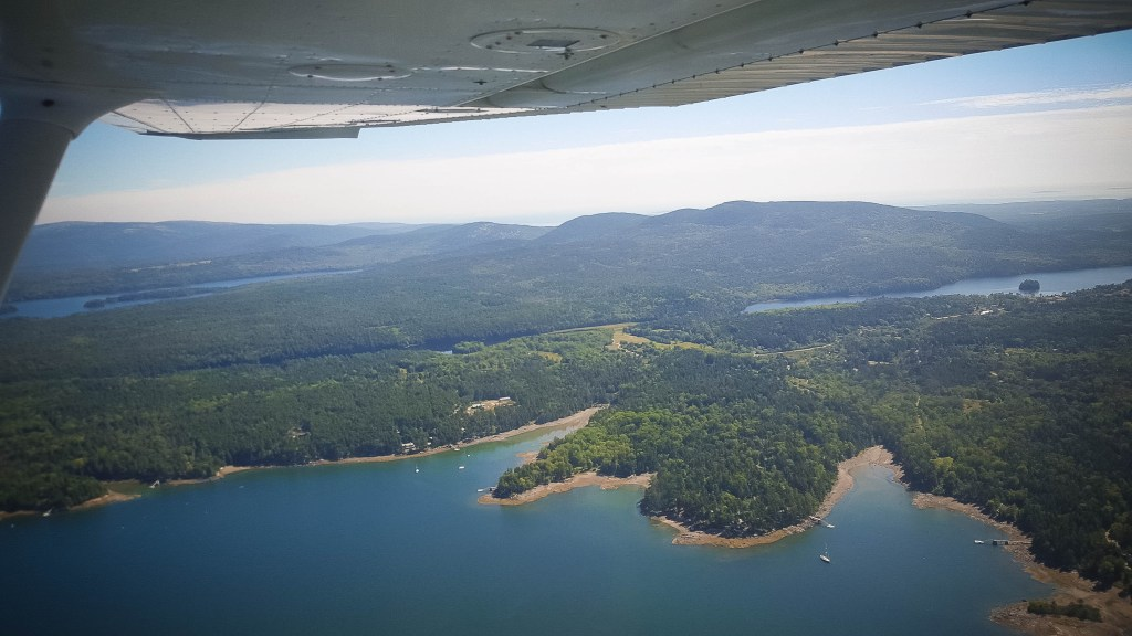 Scenic Flights of Acadia, Love Maine Adventures, Things to do in Acadia National Park