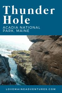 Thunder Hole, Acadia National Park, Maine, Visit Maine
