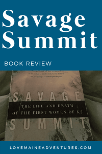 Savage Summit book review