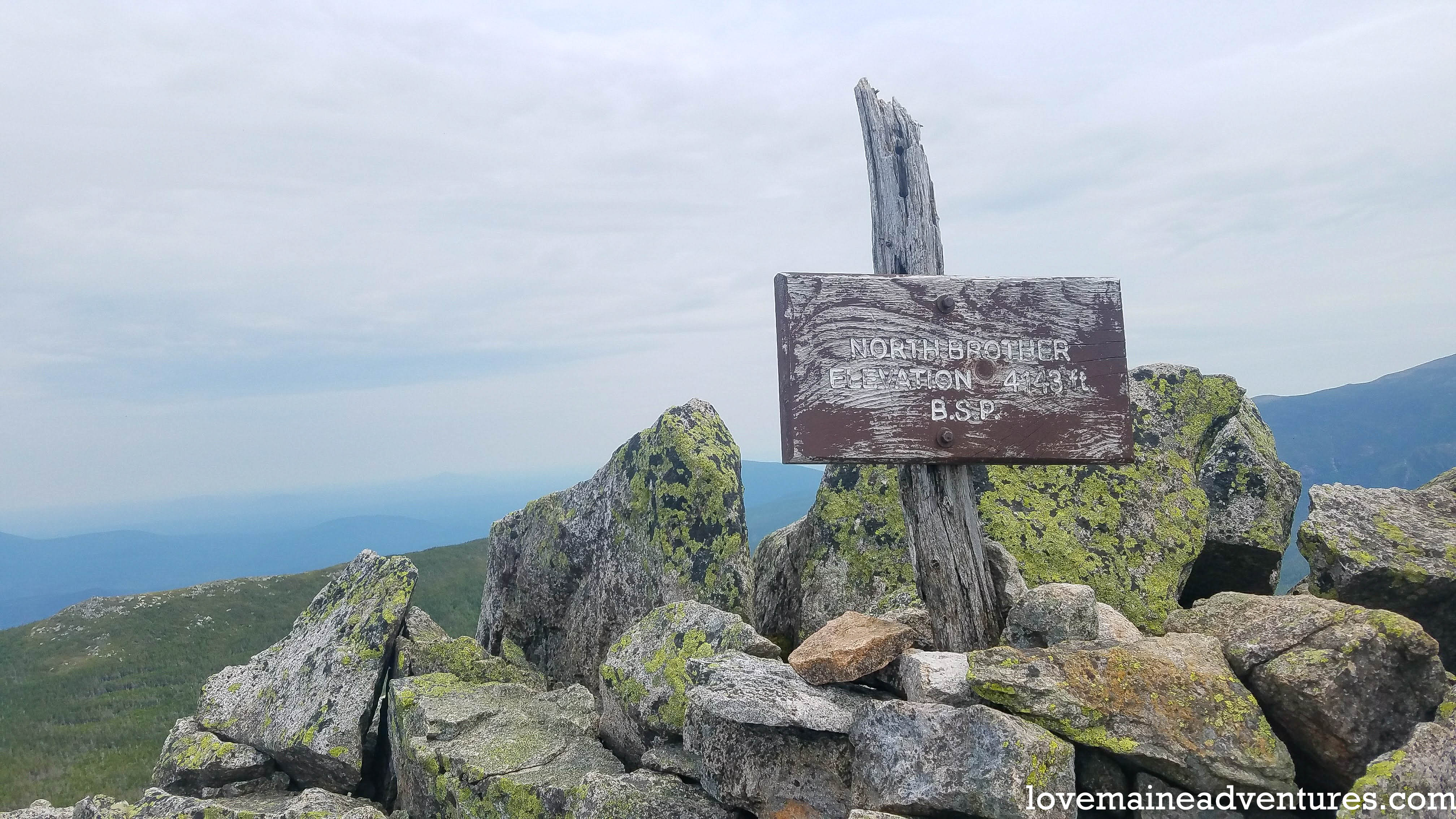 North Brother, a 4,000 footer in Baxter State Park