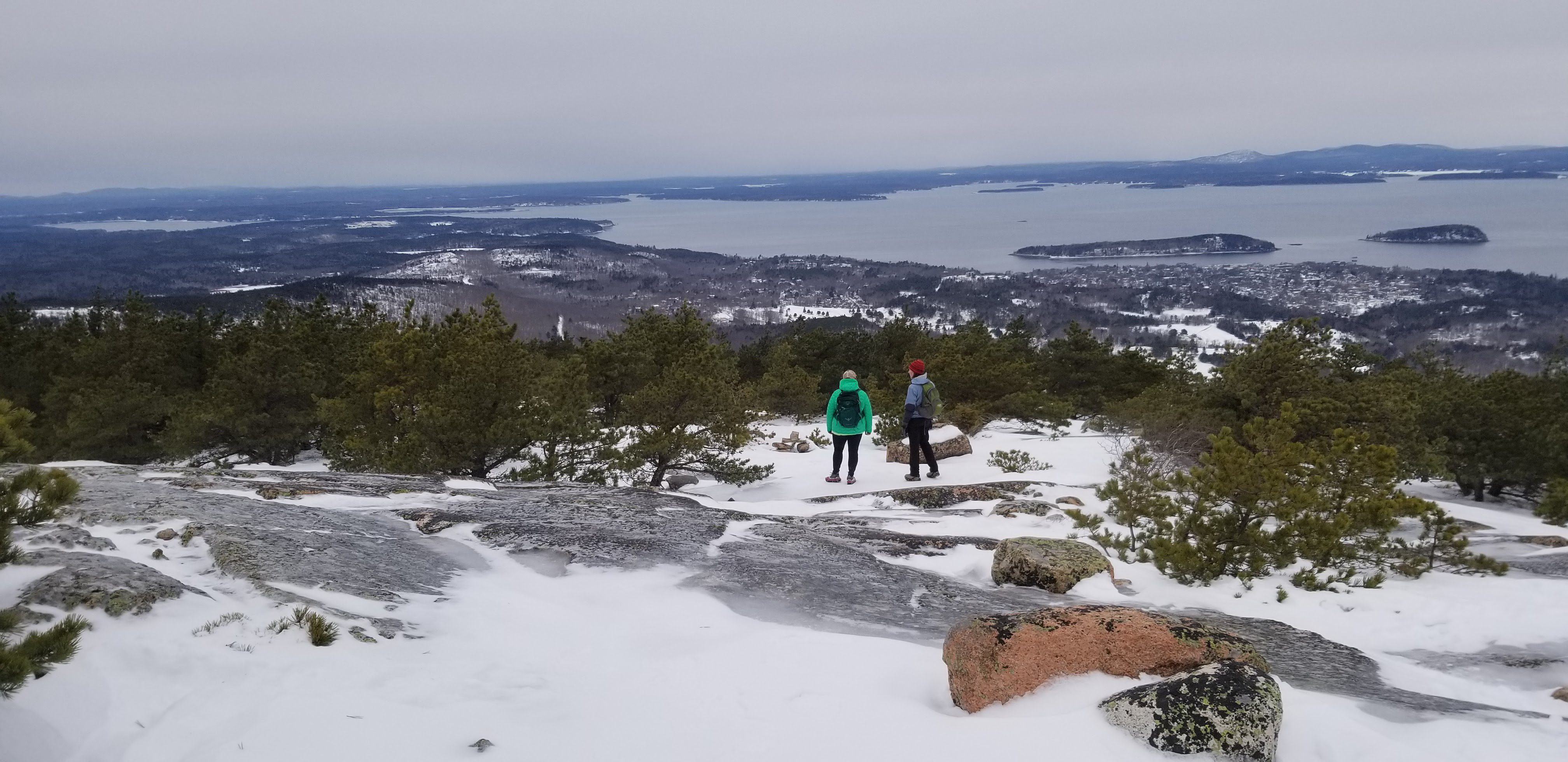 Beginner's Guide to Winter Hikes in Acadia National Park
